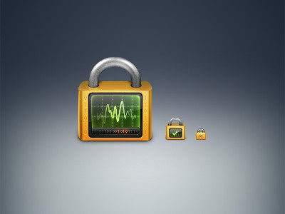 Secure Process lock secure process icon