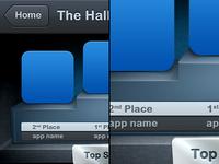 Hall Of Game UI