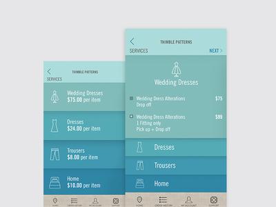 mobile UI app mobile design ui