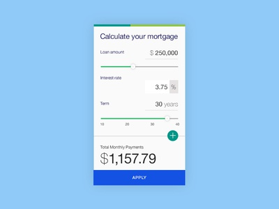 Daily UI #4 - Calculator calculator design ui dailyui