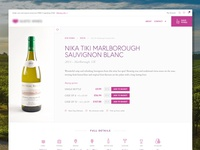 Product Page – Wine Merchant
