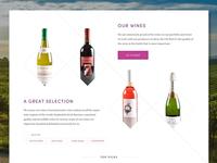 Wine Merchant – Home Page