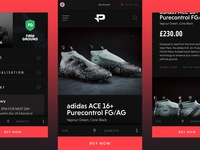 Pro:Direct Soccer Mobile Concept – Product