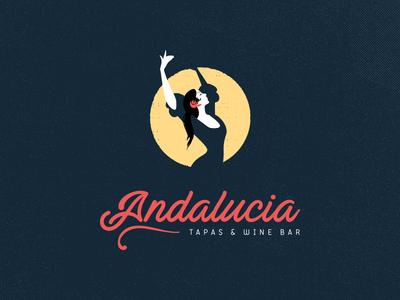 Andalucia Re-brand Final restaurant spain rebrand brand logo food tapas