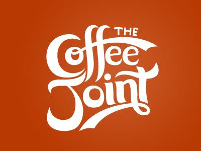 Coffee Joint Logo - WIP logo lettering script coffee