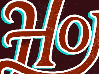 New Lettering Site lettering type typography handlettering decorative shadow letters custom handmade web design branding