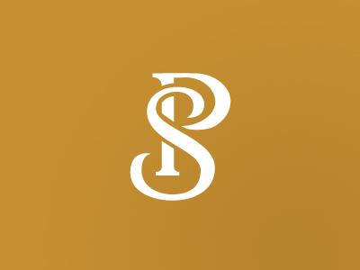 Monogram typography type icon logomark logo lettering monogram