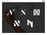 Logo Design : N letter