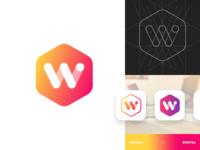 Logo Design : W
