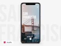 Travel App - Swipe