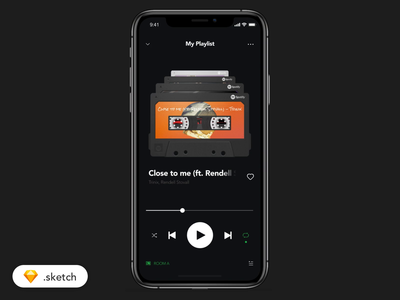 📼Audio Cassette Player - Spotify