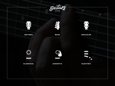 🎸Guitars Icons