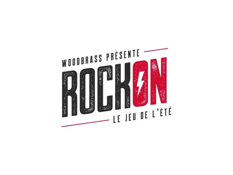 RockOn Logo branding illustration lightning logotype music inspiration brand logo rock