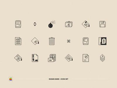 Macintosh Classic Icon Set