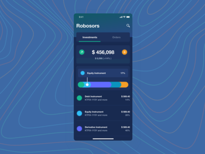 Robosors - Robo advisor app