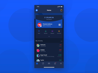 Banking App - Dark Mode