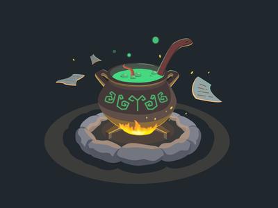 Mystical pot