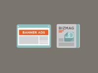 Biz Mags & Banner Ads