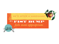 A Fist Bump Feels More Appropriate