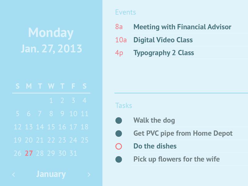 Calendar ui ux calendar color user interface user experience simple
