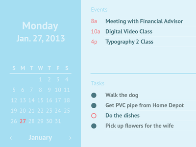 Calendar ui ux calendar color user interface user experience simple