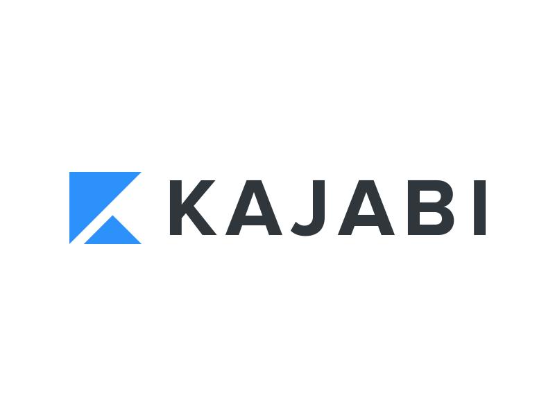 Kajabi Logo branding clean simple logo