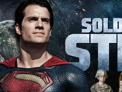 Man of Steel man of steel superman national guard army soldier of steel