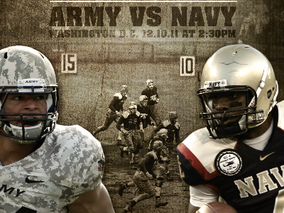 Army VS Navy art direction design creative direction