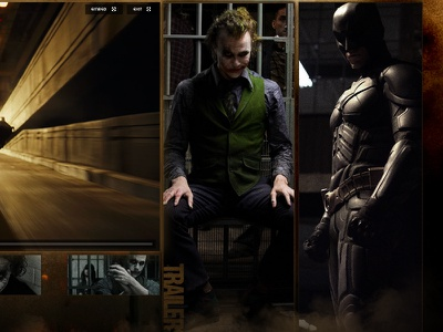 Legendary Pictures film sites photo editing the dark knight batman art direction design photo manipulation legendary pictures