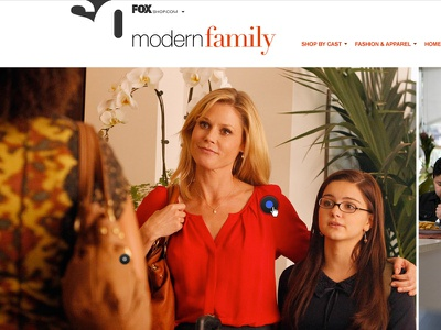 Modern Family art direction design typography photo editing modern family