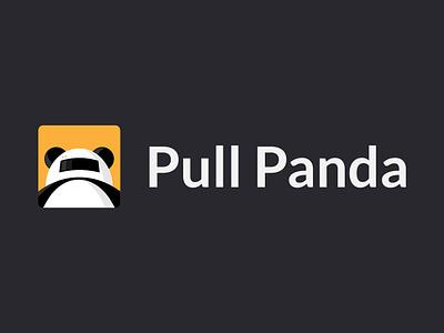 Logo Design for Pull Panda simple logo bot robot panda vector branding ui logo design