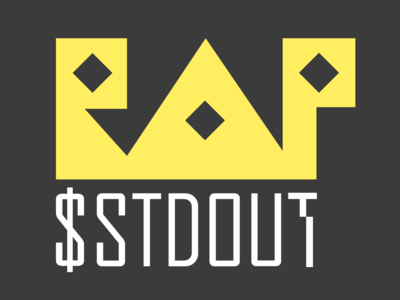 Sticker design #2 for $stdout rap