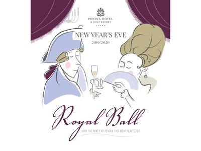 Royal Ball NYE party at Penina Hotel and Golf Resort