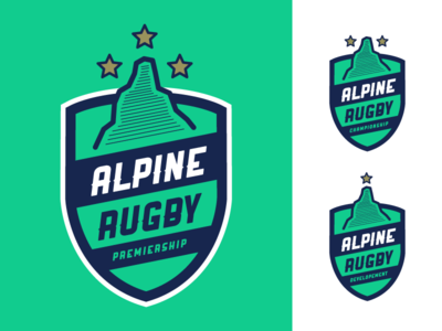 Alpine Rugby Premiership Logo #2 logo rugby rugby union alpine rugby premiership