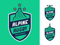 Alpine Rugby Premiership Logo #2