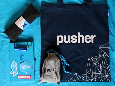 Pusher Swag design totebag shirt print swag