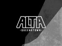 Bespoke Logotype for Alta, Queenstown