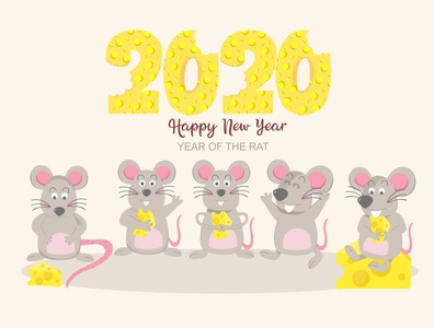 happy new year , year of the rat