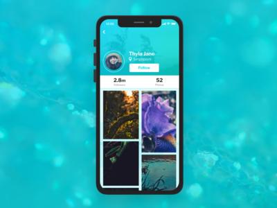 DailyUI - 006 - User Profile
