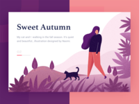 Sweet Autumn illustration design