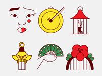 Mulan Icon Set