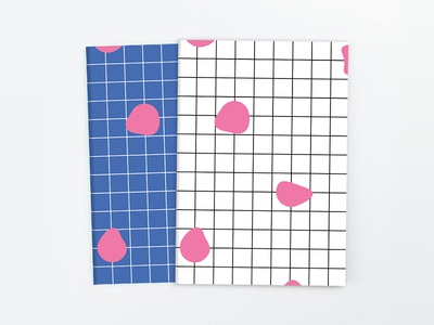 grid/drip notebooks drip grid notebook print