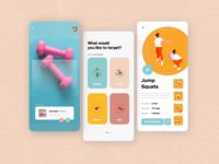 AR Fitness App