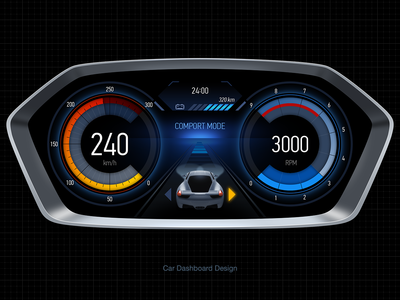Car Dashboard  01