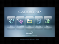 CARDIO XP  Medical Equipment Launcher Type A