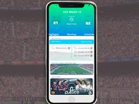 soccer scores highlights concept