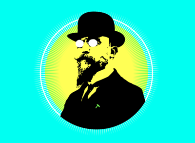 Erik Satie Illustration