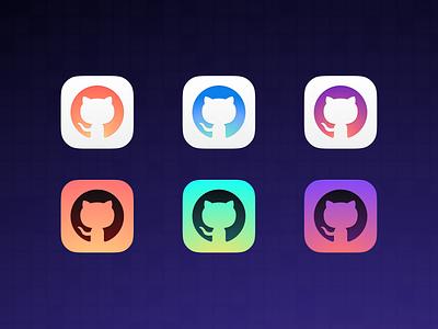 Custom App Icons · Universe 2020 gradient app icon