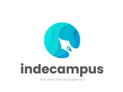 Indecampus icon animation logodesign illustrator design typography illustration branding logo