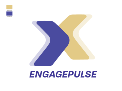 Engage Pulse logo illustrator design illustration logodesign branding